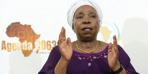 Nkosazana Dlamini-Zuma addressed the State of the Continent Media Briefing for the last time as the chair...