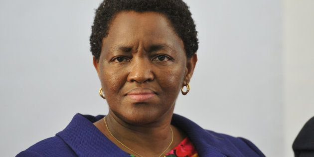 Minister of Social Development Bathabile