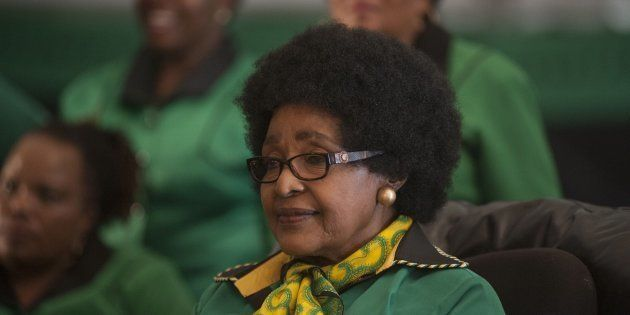 Winnie Madikizela-Mandela on her 80th birthday in September