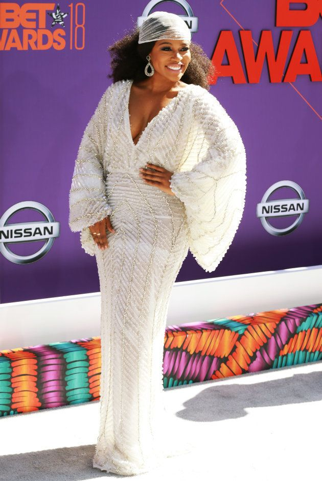 Nomzamo Mbatha attends the 2018 BET Awards at Microsoft Theater on June 24 2018 in Los