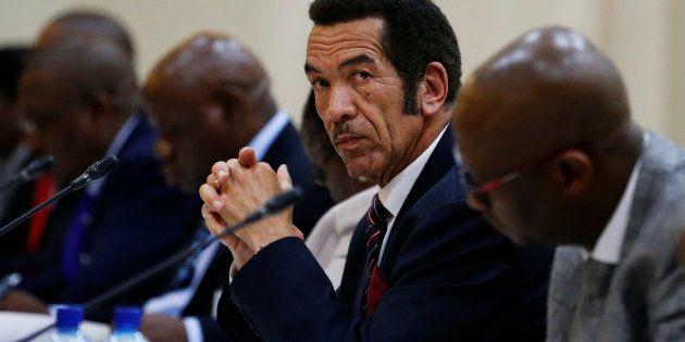Botswana President Ian