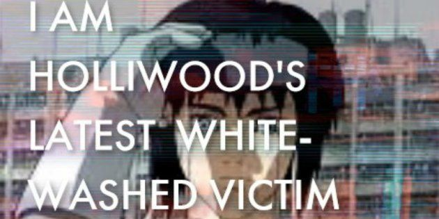 The Internet Hijacked A Ghost In The Shell Viral Marketing Campaign To Protest Its Whitewashing Huffpost Uk