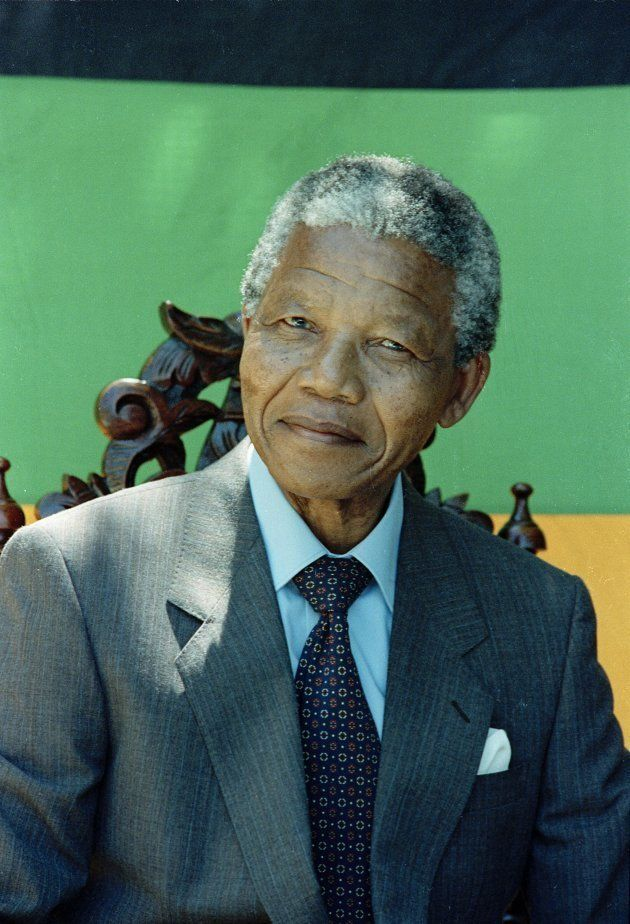 Portrait of Nelson Mandela. (Photo by Graeme Williams/South Photographs/Gallo Images/Getty
