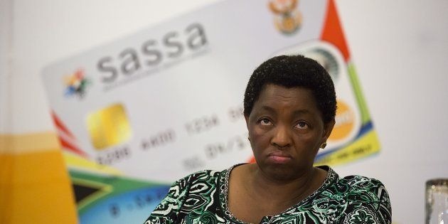 Minister of Social Development, Bathabile Dlamini at the first Sassa Anti-corruption Conference on November...