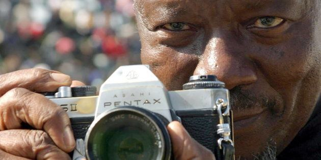 June 16, 2005. South African photographer Sam Nzima, the photographer who took the famous Hector Peterson...