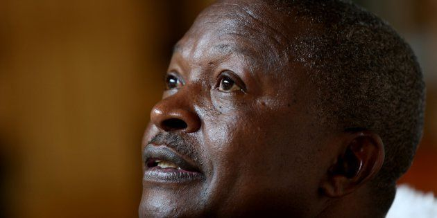 Mpumalanga Premier David Mabuza during an interview about talks about his career and his future plans...