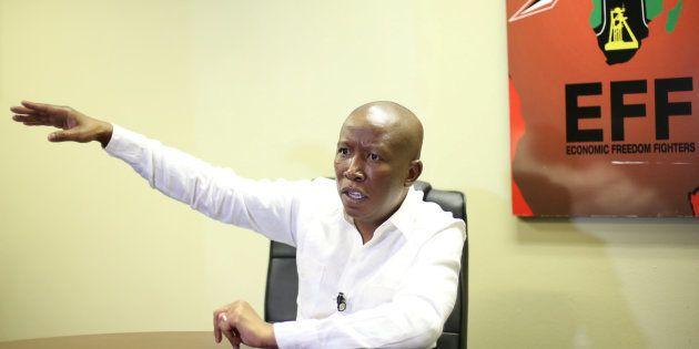 Malema: 'The ANC Are Elitist And Want To Be Leaders, Not