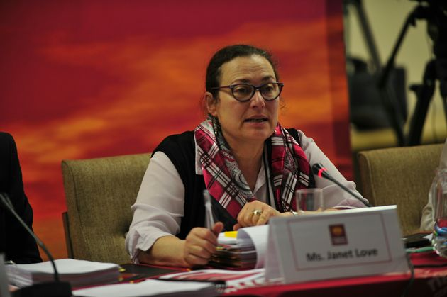 JOHANNESBURG, SOUTH AFRICA � SEPTEMBER 13 Commissioner; Janet Love during the Human Rights Commission...