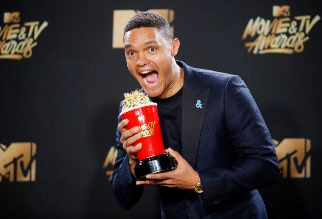 Trevor Noah wins Best Host Award at MTV Movie