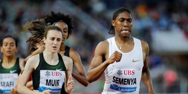 Athletics - Diamond League - Pontaise Stadium, Lausanne, Switzerland - July 5, 2018 South Africa's Caster...