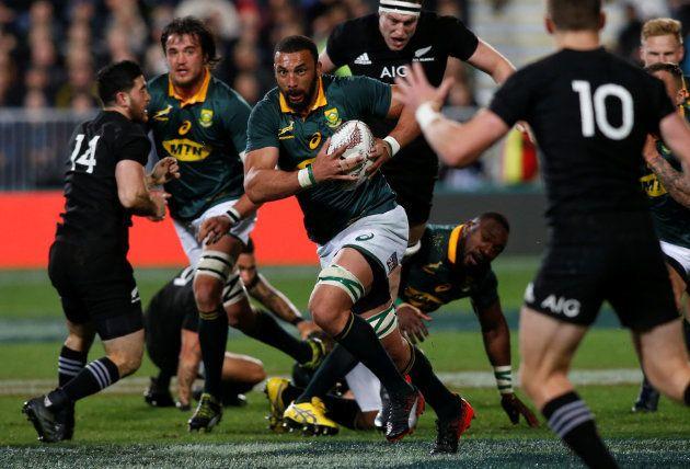 New Zealand All Blacks vs South Africa Springboks - Auckland, New Zealand - September 16,