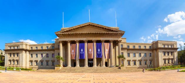 Johannesburg, South Africa - February, 22nd 2015: The University of the Witwatersrand main building the...