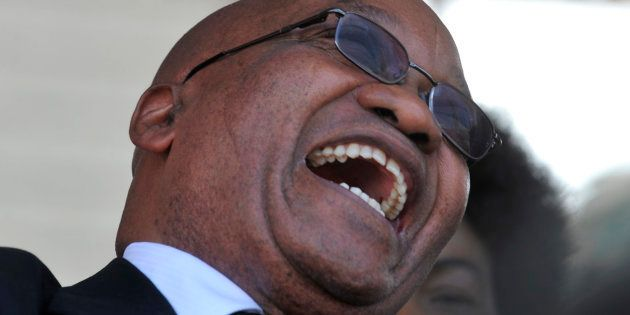 President Jacob Zuma... he's not done yet. Not by a long