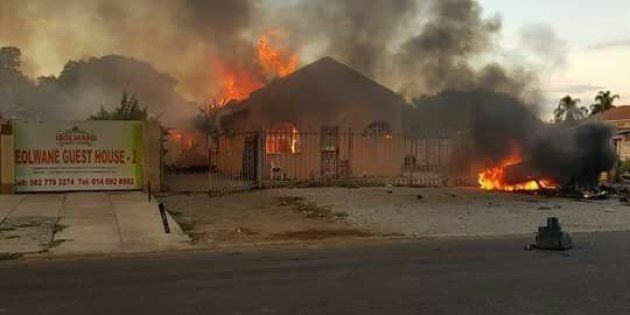 Buildings Torched In Rustenburg As Taxi Drivers Intensify War On