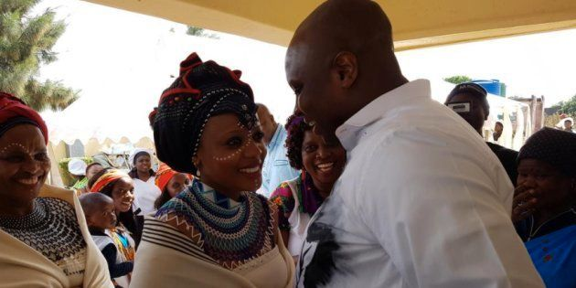 The Photos And Videos From The EFF's Floyd Shivambu's Wedding Will Give You The Most