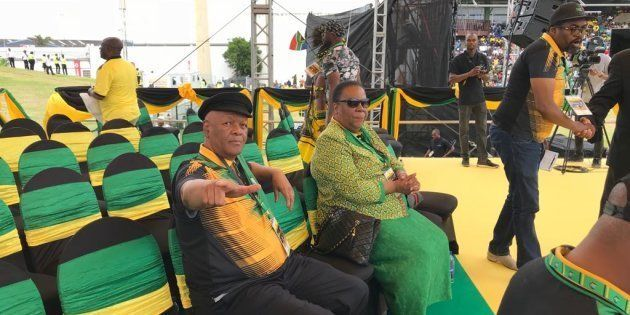 In Pictures: ANC Gets Ready For Ramaphosa's 'January 8'