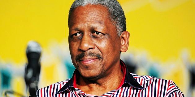 Mathew Phosa at the ANC Mangaung elective conference in Bloemfontein, South Africa, on December 17,