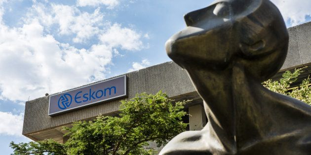 The headquarters of South Africa's state-owned electricity utility, Eskom, at Megawatt Park in Sandton,...