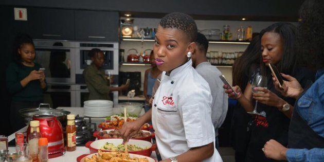 Johannesburg Chef Zanele Van Zyl Shares Her Love For Motherhood And