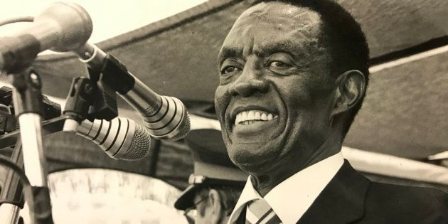 Lucas Mangope was the leader of Bophuthatswana, an