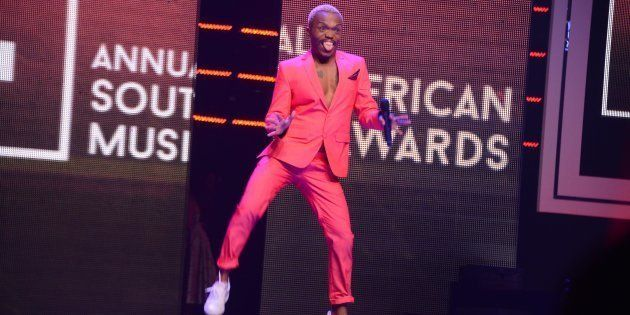 DURBAN, SOUTH AFRICA � JUNE 04: Somizi attends the 22nd annual South African Music Awards (SAMAs) at...