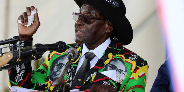 Mugabe Speaks Out Against White Capital In SA And Zimbabwe