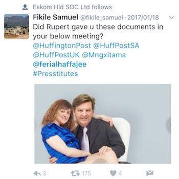 Ferial Haffajee: The Gupta Fake News Factory And