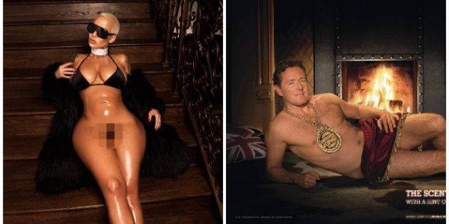 Piers Morgan Tried To Troll Amber Rose For Posting A Nude So People Trolled Him