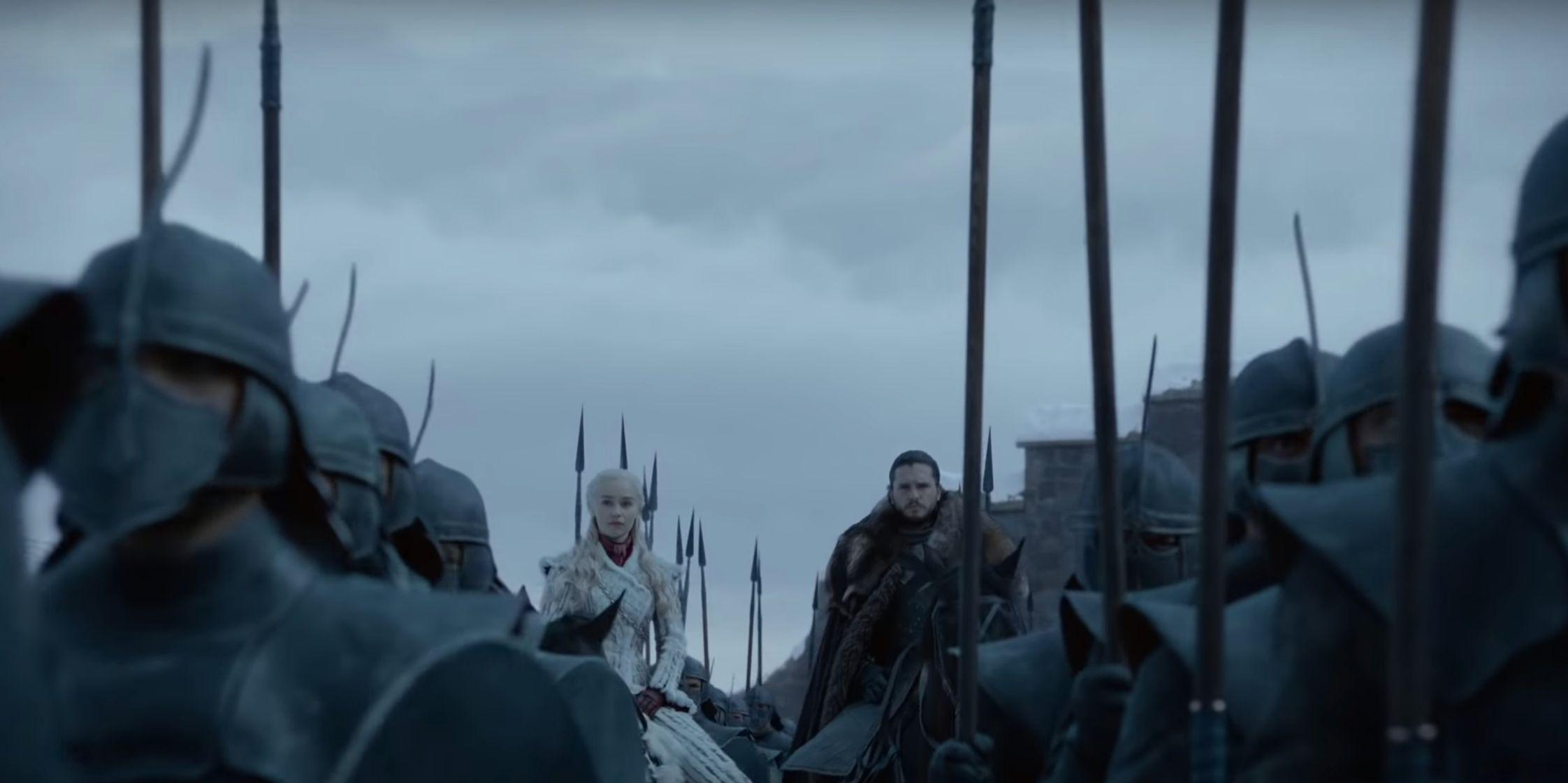 O trailer da 8ª e última temporada de 'Game Of Thrones' está entre