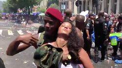Bloco de Ludmilla, no Rio, é interrompido após pancadaria e repressão da