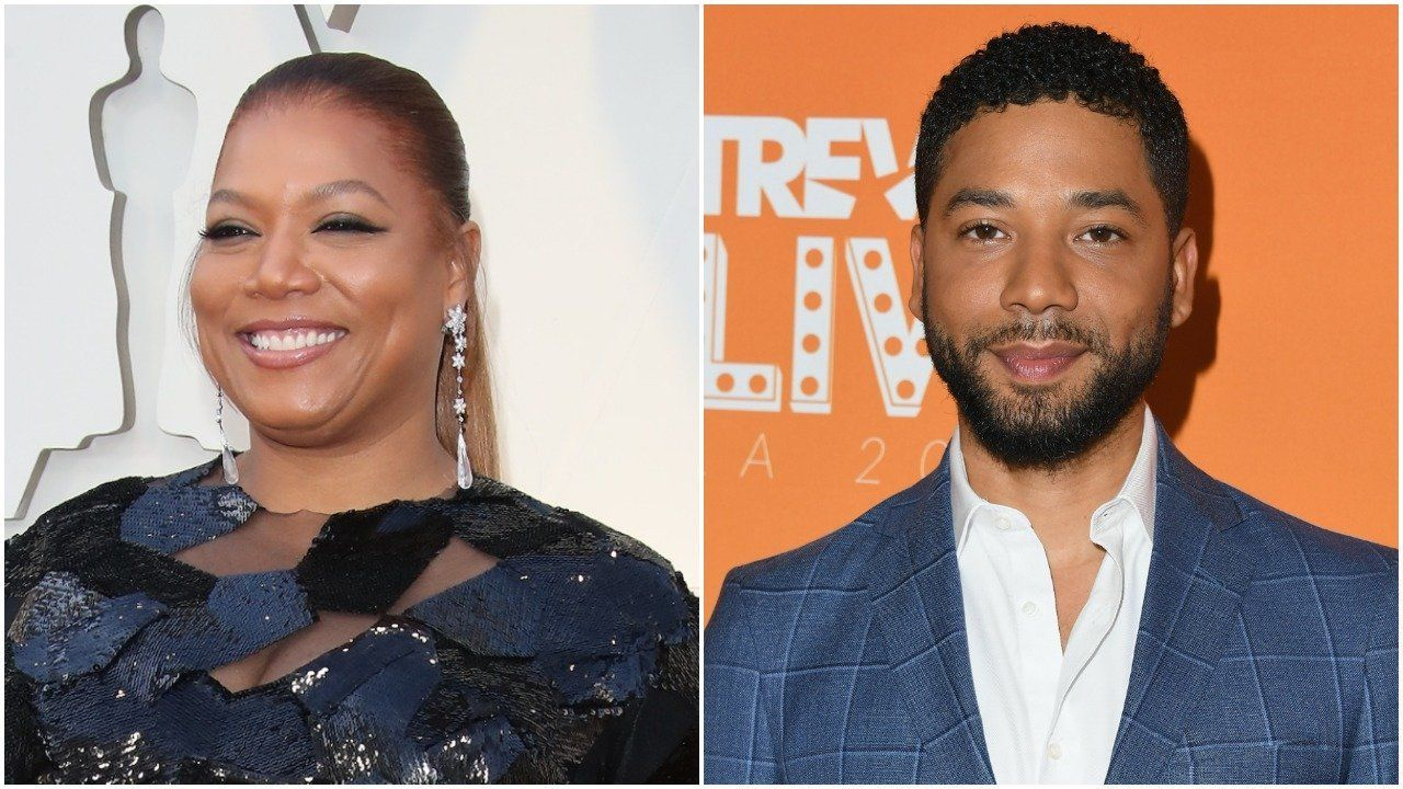 Queen Latifah Jussie Smollett