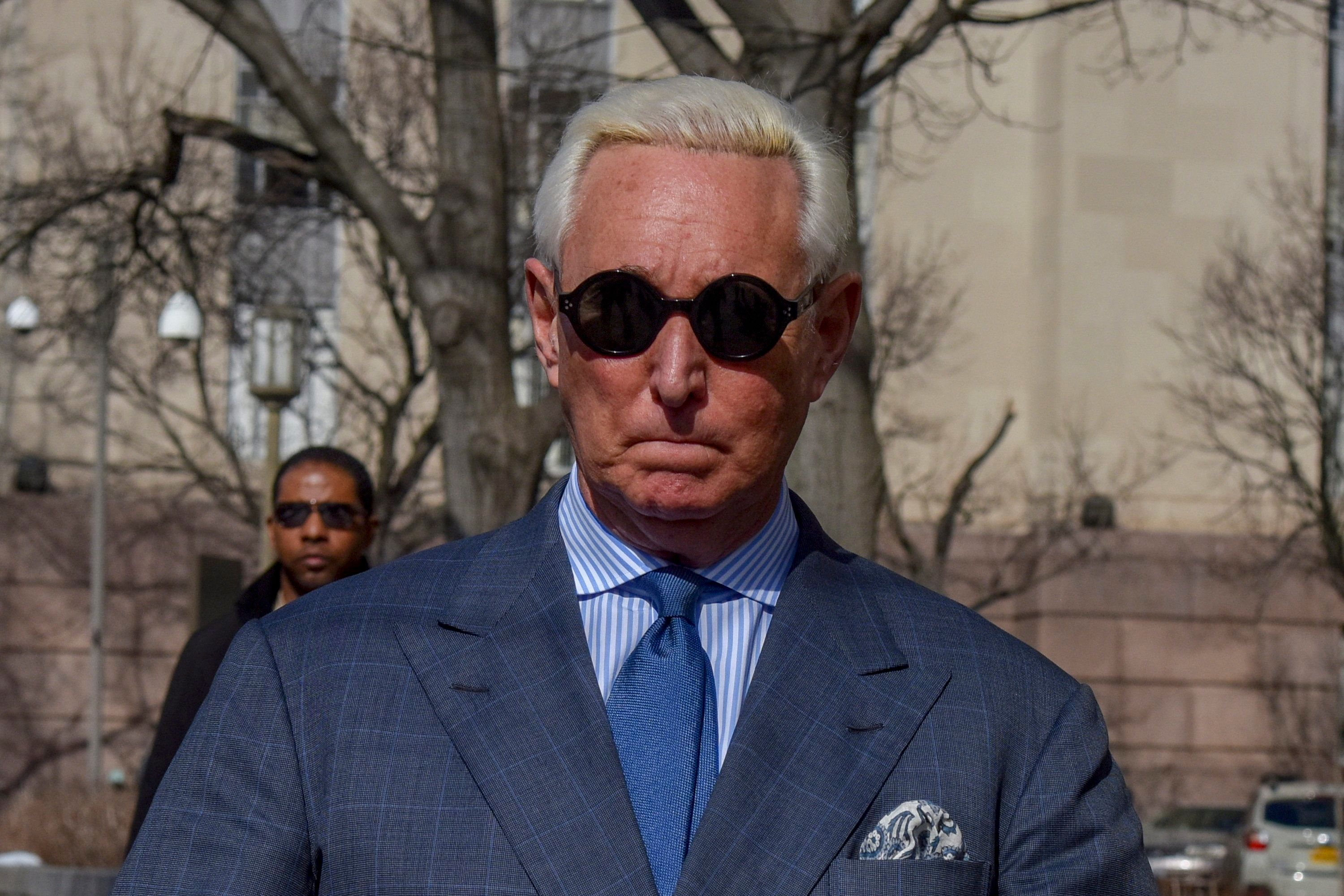 Judge Slaps Roger Stone Over Instagram Posts, Book Criticizing Mueller Probe