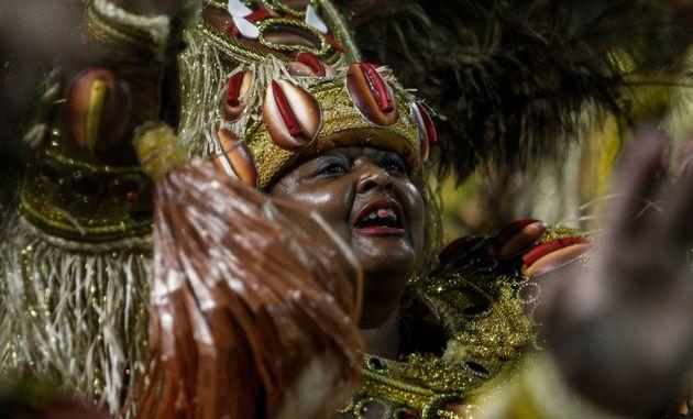 Pela 1ª vez, 'Mancha Verde' é a grande campeã do Carnaval de São