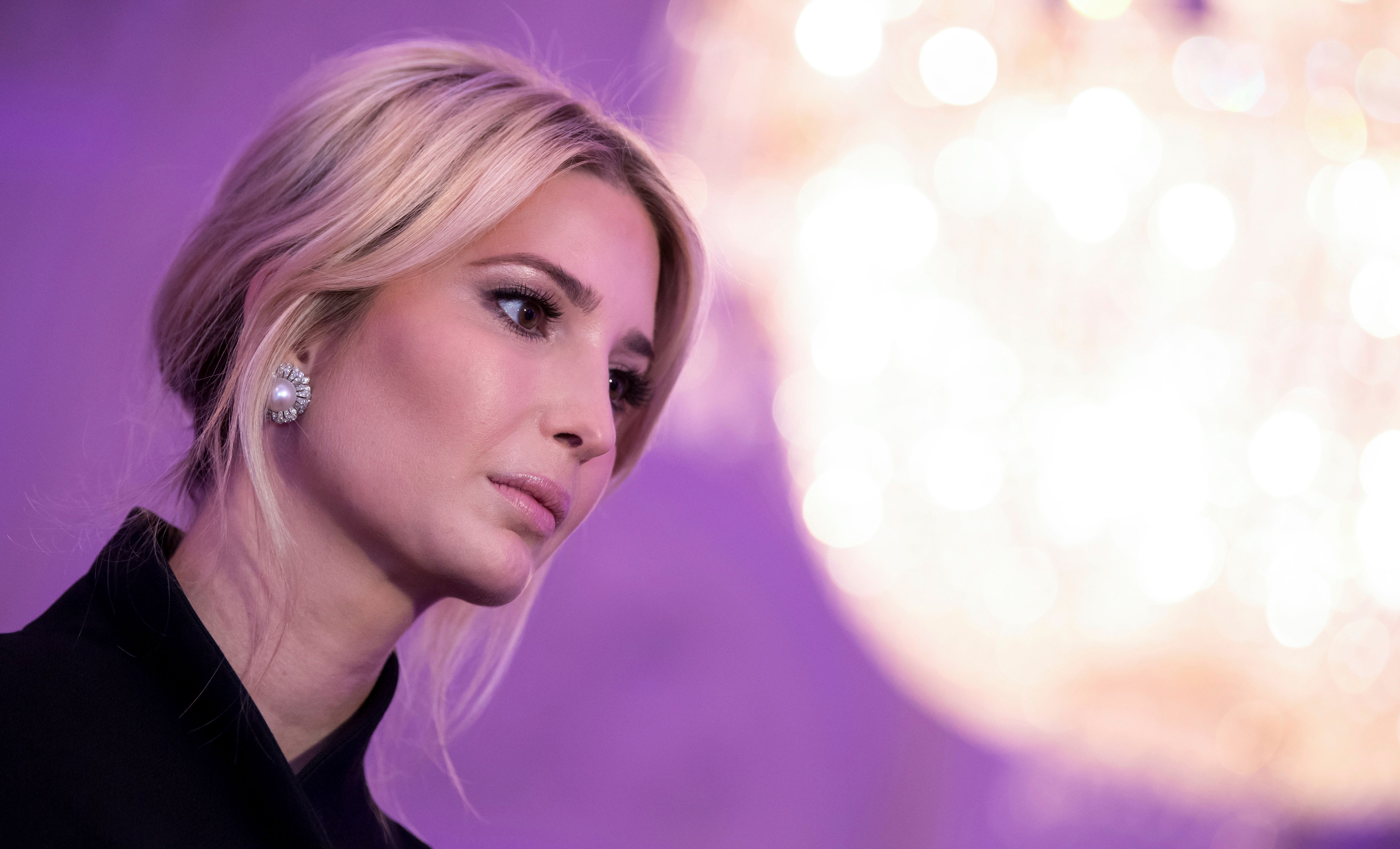 Ivanka Trump spoke against a rule that would require companies to report pay broken down by gender, race and ethnicity.