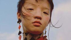 미국 '보그'가 중국인 모델 사진을 올려 중국 사람들의 분노를