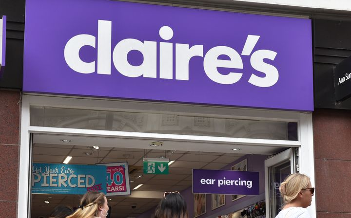 The Food and Drug Administration announced test results that revealed Claire's and Justice sold cosmetic products that contai