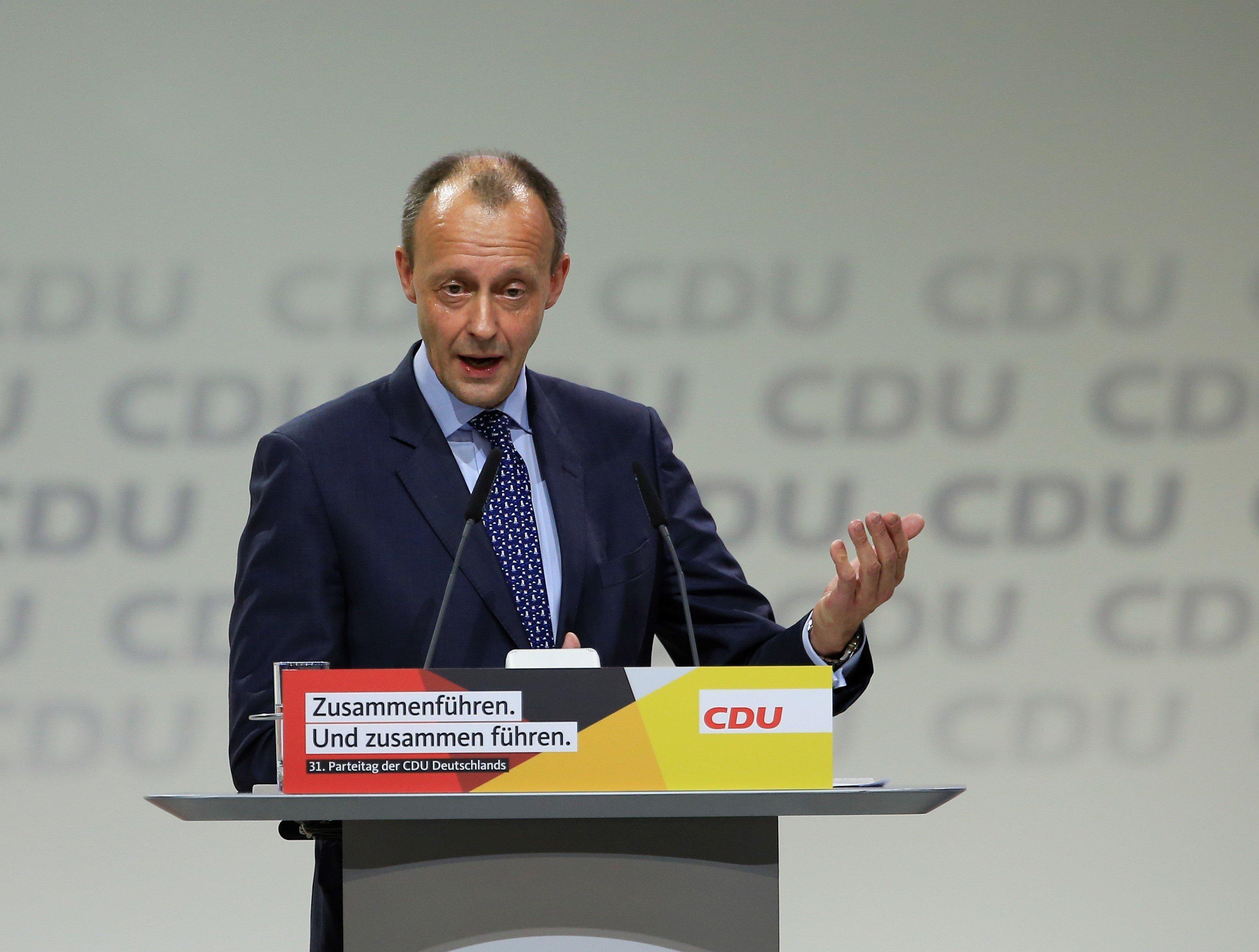 Friedrich Merz will für CDU-Amt