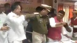 WATCH: UP BJP MP Thrashes Party MLA With Shoe After