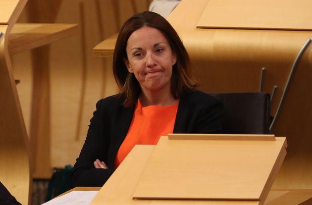 Former Scottish Labour leader Kezia