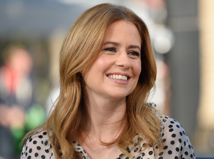 "Jenna Fischer, star of ""The Office"" and ""Splitting Up Together,"" has often let fans in on her life as a mom."