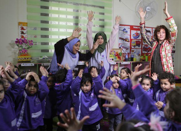 Στη Βηρυτό για μια καντίνα η χολυγουντιανή σταρ Σούζαν