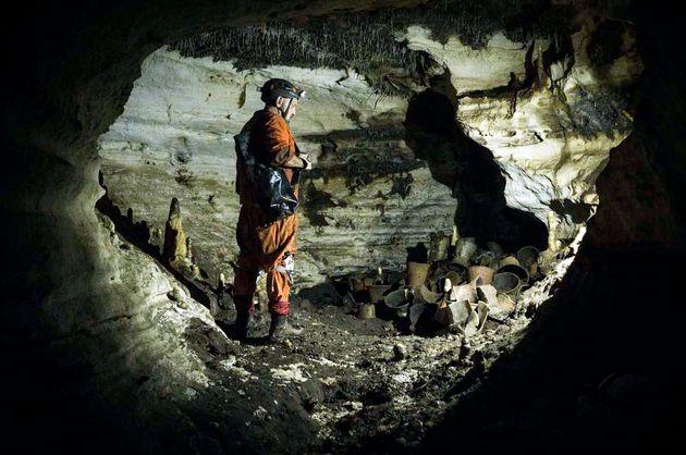 Ο αρχαιολόγος Γκιγέρμο...