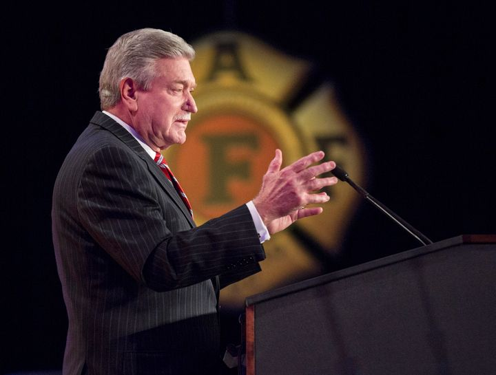 Harold Schaitberger, general president of the International Association of Fire Fighters, has a relationship with former Vice