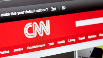 Portland, Oregon - March 29, 2011: CNN, the Cable News Network, delivers news 24 hours a day online and on television