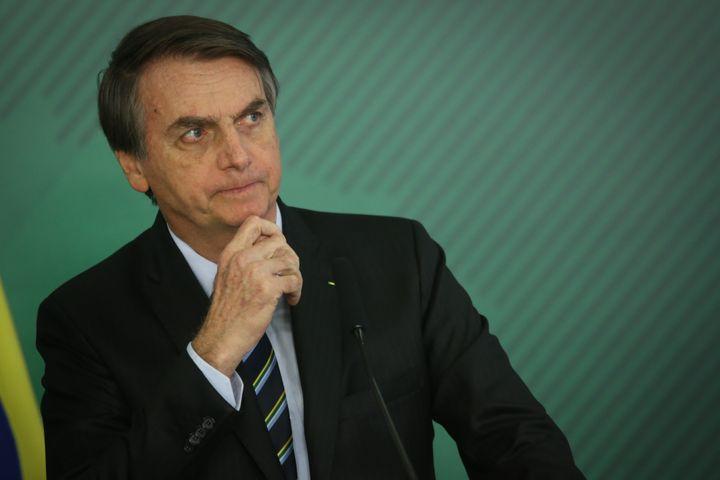 Brazilian President Jair Bolsonaro took a homophobic swing at Carnival this week.