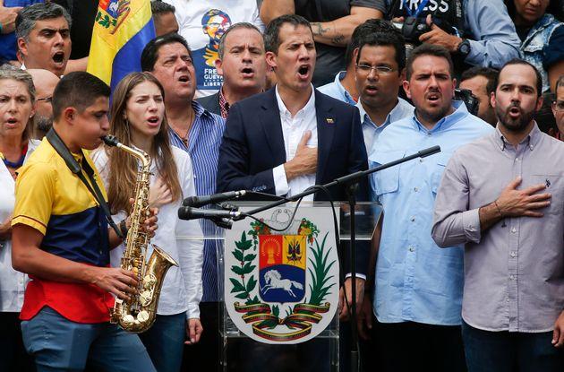 Juan Guaidó retornou à Venezuela durante o
