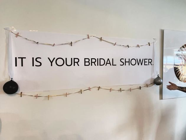 Kayleigh Brown's bridal shower is made for