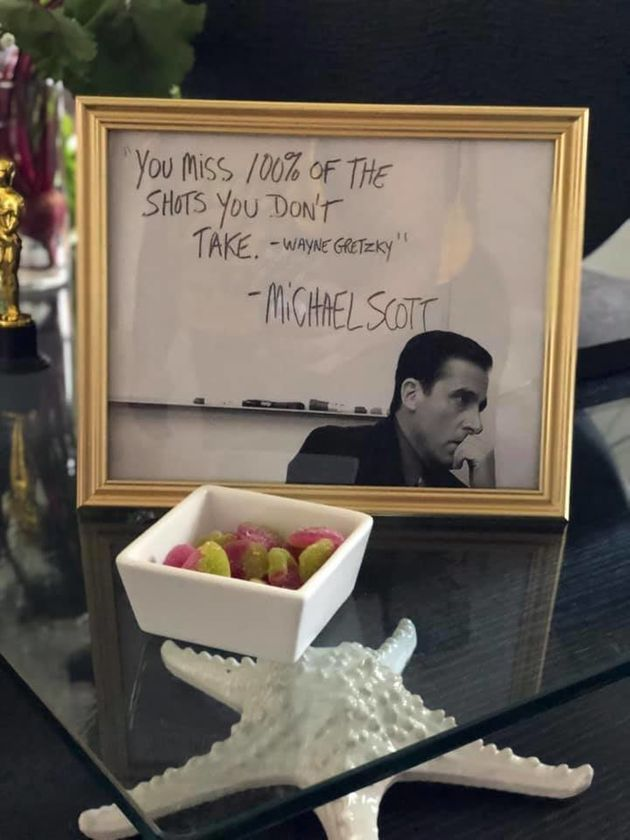 An iconic quote from Michael Scott (Wayne