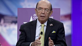 Wilbur Ross, U.S. commerce secretary, speaks during the Conservative Political Action Conference (CPAC) in National Harbor, Maryland, U.S., on Friday, March 1, 2019. President Trump will attend this year's Conservative Political Action Conference on his return from a summit with North Korea leader Kim Jong Un in Hanoi. Photographer: Andrew Harrer/Bloomberg via Getty Images