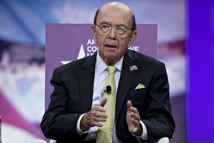 The Commerce Department, led by Secretary Wilbur Ross, oversees the census.